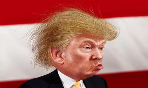 Trump ist Trumpf