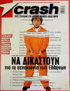 Merkel Crash Magazine Griechenland