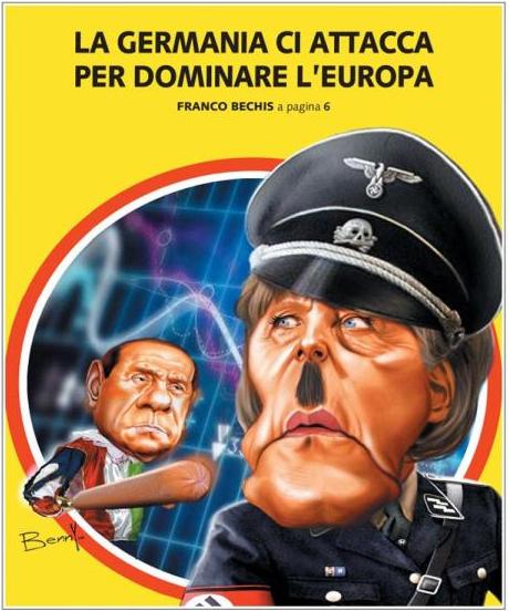 Merkel Libero News Italien