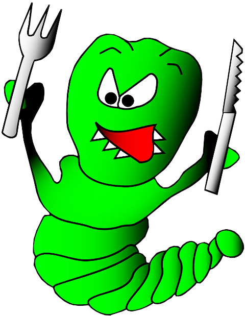 Worm green