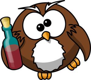 owl drunk