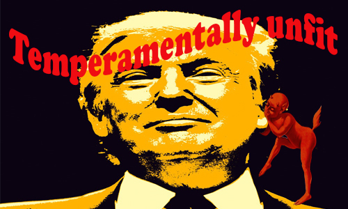 Temperamentally unfit!