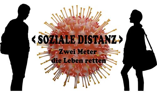 #Coronavirus: #Soziale Distanz